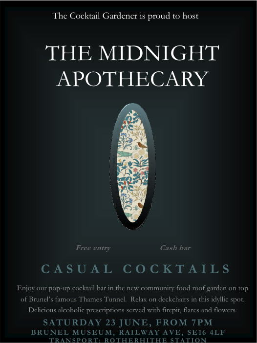 Midnight Apothecary flyer 23 June