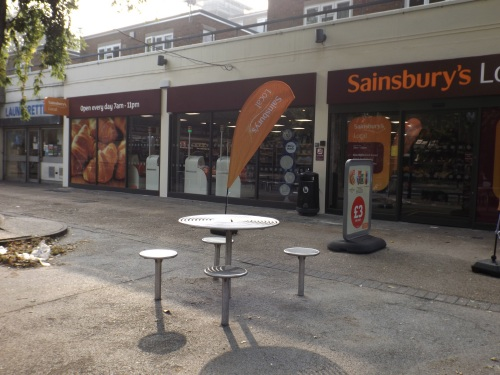 Sainsbury's near Bermondsey Station